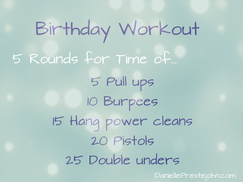 Birthdayworkout