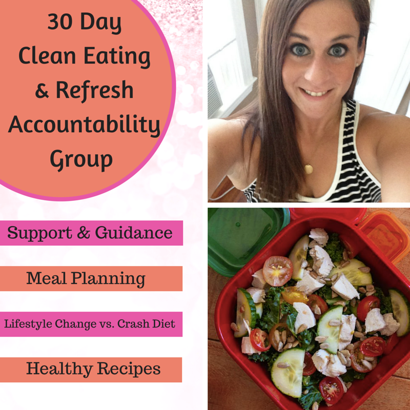 30 Day Clean Eating &Refresh Challenge