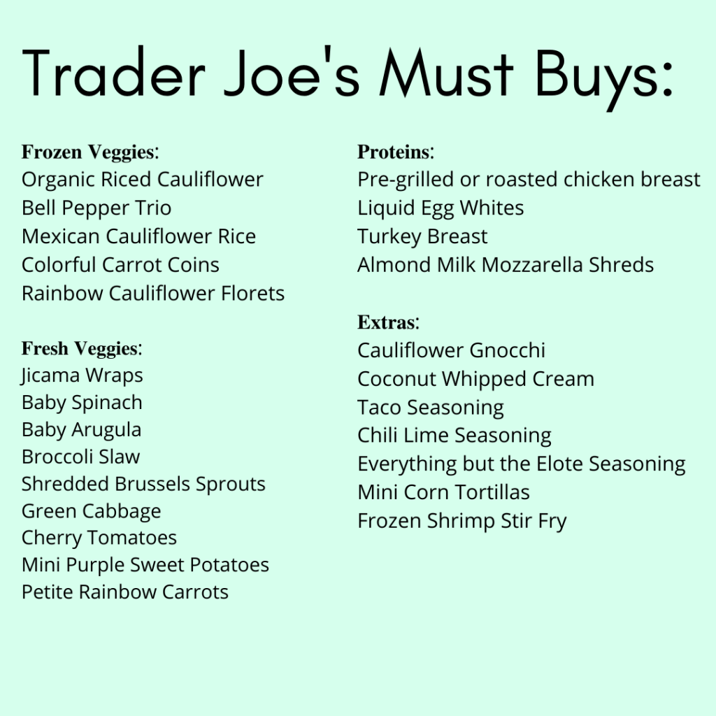 Trader Joe's Must Buys_